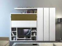 Nikai TV is a modern murphy bed