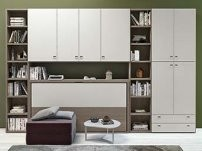 Nikai is a pull down horizontal murphy bed
