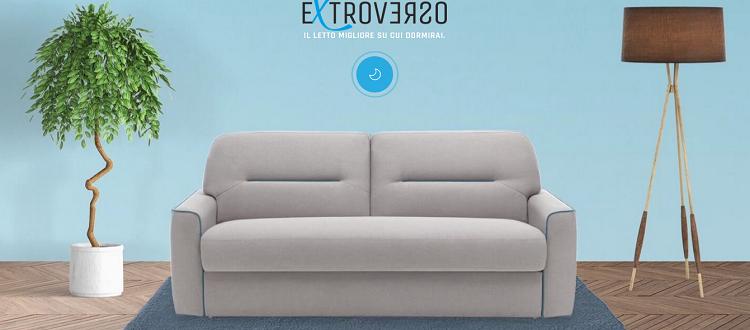 Rozkládací pohovka Extroverso